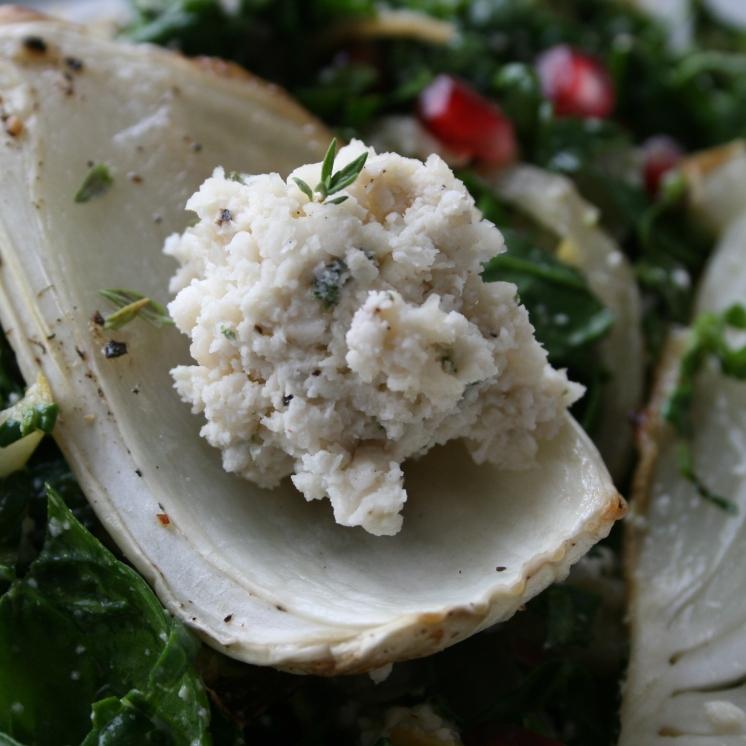 Utiliser les fenouils comme cuillères pour servir pâté ou trempette