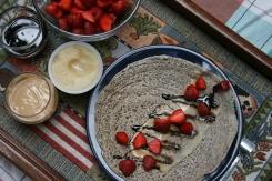 On peut tartiner les ingrédients un à un ou les mélanger en tartinade en avance