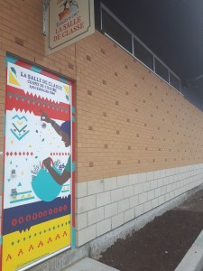 Porte de la salle de classe